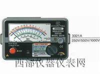 指针式绝缘测试仪 3321A