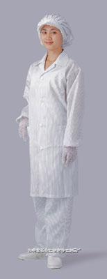 翻領防靜電大褂 HC016