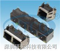 RJ45网络插座带灯 6056-8P8C11RXXX0010