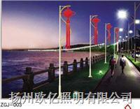 扬州中国结路灯  FGD