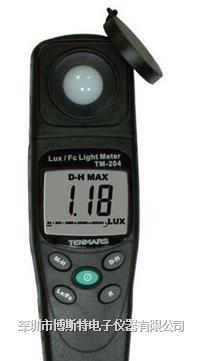 台湾泰玛斯TM-204数字照度计 TM-204