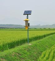 风吸式太陽能殺蟲燈
