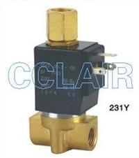 231Y-3,231Y-6,水(热水)气三通电磁阀,G1/8〞~G1/4〞 231Y-3,231Y-6