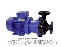 工程塑料磁力泵,耐酸碱管道泵 32CQ-15F