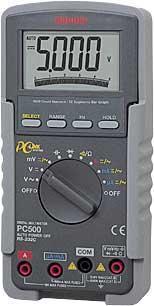 日本三和Sanwa数字万用表PC-500|三和万用表PC-500 PC-500