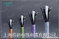 EKM71373系列拖链专用单护套屏蔽电缆,高柔耐磨拖链电缆 EKM71373