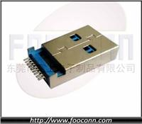 USB 3.0 AM SMT沉板 1.9mm高|USB 3.0 A公 SMT沉板 1.9mm高|USB 3.0 AM SMT沉板|USB 3.0 A公沉板SM USB 3.0 AM SMT沉板 1.9mm高