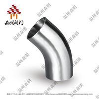 45°加长焊接式弯头 SM0211005