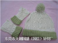 针织帽子套装