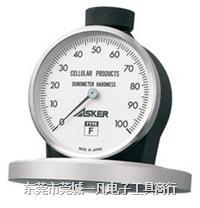 F型硬度计 橡胶硬度计 ASKER-F型 硬度计 日本ASKER 高分子 F型