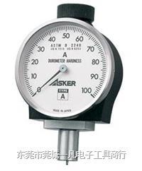橡胶硬度计 AL长脚型硬度计 硬度计 日本ASKER 高分子 ASKER-AL型 AL型