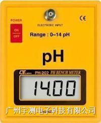 台湾路昌PH-214桌面式酸碱度计 PH-214