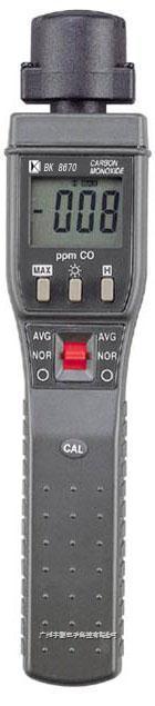 台湾贝克莱斯一氧化碳侦测仪BK8670带声响报警 BK8670