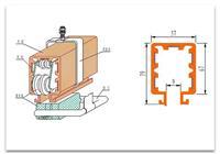 DHG 系列组合式安全滑触线 DHG 系列