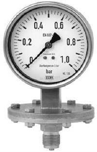 YPF-100、YPF-150 膜片壓力表 YPF-100、YPF-150