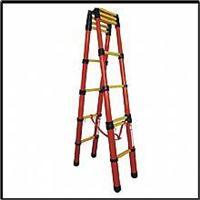 升降式红管玻璃钢绝缘人字梯ST ST