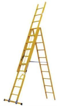 电力检修绝缘梯, 玻璃钢电工人字梯,3米合梯 ST