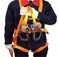 ST高空作业安全带 建筑安全带 水泥杆安全带脚扣脚爬 防坠安全带 ST