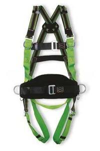 三挂点全身式安全带,配有工作定位腰带 ST