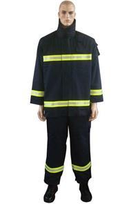 阻燃消防服、消防员灭火防护服(阻燃面料)、战斗服。 LWS-054