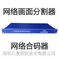 4路网络数字画面分割器,视音频网络合码器,视频解码器,视频编码器 DS-HD401N