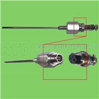 航插式PT100热电阻铂电阻