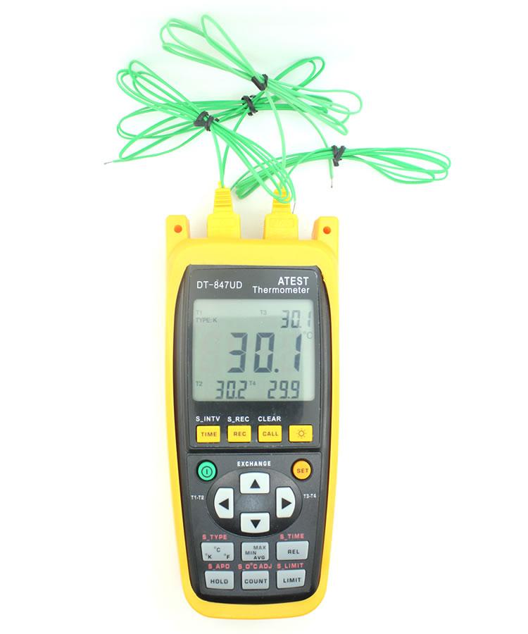 多通道温度记录仪