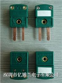 SMPW-R/S-MF热电偶连接器|R/S型omega插头插座 SMPW-R/S-MF