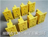 MPJ-K-F安装式面板插座|K型omega热电偶插座 MPJ-K-F