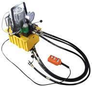 EHP-700BS-3 三回路電動泵(押扣式-带电磁阀) EHP-700BS-3