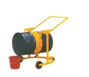 機械旋轉式液壓油桶搬運車