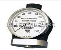 进口奥斯卡ASKER高分子橡胶邵氏硬度计FP型测量化妆棉化妆粉扑 FP