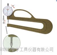 特价供应进口测厚规H-2范围0-10分度值0.01 H-2