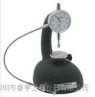 进口日本孔雀PEACOCK台式测厚仪R1-B橡胶 皮革塑料测量范围10mm分度值0.01四川特价 R1-B