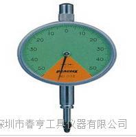 进口孔雀PEACOCK指针比测型百分表117Z分度值0.01范围1.0mm 117Z