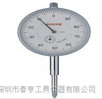 苏州特价日本孔雀PEACOCK机械指针式百分表207F-T范围20mm 207F-T