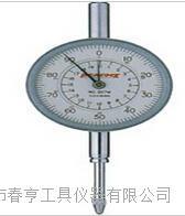 进口日本孔雀PEACOCK机械指针式百分表207W范围20mm四川特价 207W
