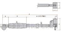 日本孔雀PEACOCK测通孔缸径规CC-3C测量范围50-150 CC-3C