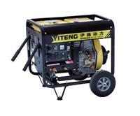 柴油电焊机|小型电启动交流自发电焊机