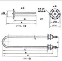 GYY2、3、4 型管状电热元件  GYY2、3、4 型