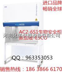 AC2-6S1二级生物安全柜  郑州ESCO生物安全柜AC2-6S1  AC2-6S1