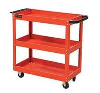 三层工具手推工具车 工具柜零件柜