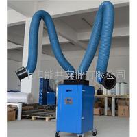 双臂双芯烟尘净化器 移动式焊接烟雾净化器工业无尘车间排烟机焊烟除尘器 BXT-HYSS22