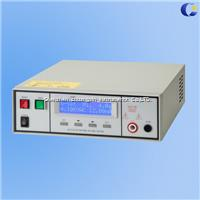 Programmable AC/DC withstand voltage tester