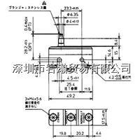 BZ-2RS-T4-J微動開關,azbil山武アズビル株式會社 BZ-2RS-T4-J