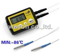 External dual/double probe low temperature data logger  WS-T21LPRO