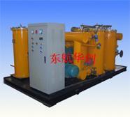 发电厂油系统大流量冲洗装置