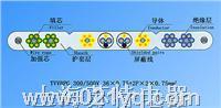 TVVBPG-TV扁行絞合型排列帶屏蔽、鋼芯和視頻線電梯電纜