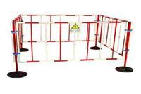 ST不锈钢折叠围栏热销 双带式不锈钢伸缩围栏 ST