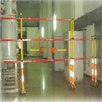 ST移动式柜型伸缩围栏 ST